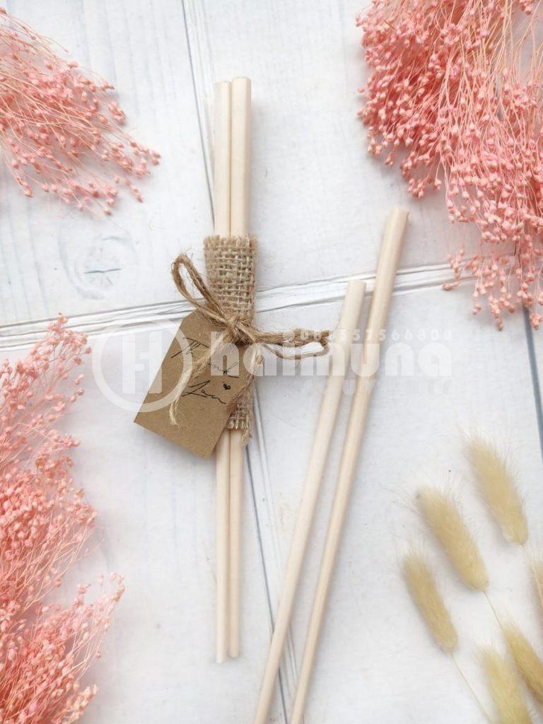 souvenir pernikahan rustic